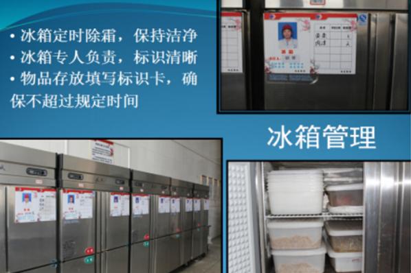 冰箱管理科学储存原料
