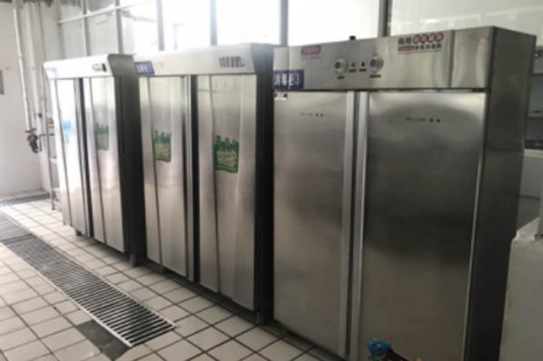 消毒保洁柜管理(清洁后分类摆放)